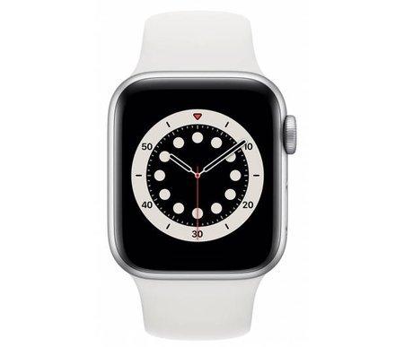 Apple Watch 6 Silver White Sport GPS 44mm