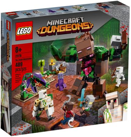 LEGO Minecraft Postrach Dżungli 21176