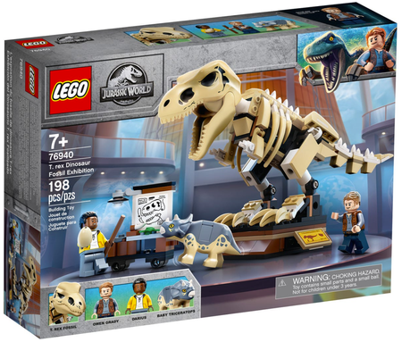 LEGO Wystawa skamieniałości tyranozaura 76940