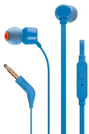 Słuchawki dokanałowe JBL T110 Niebieskie