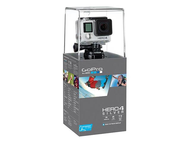 Gopro hero4silver edition camera + car kit bundle fumfie. Com.
