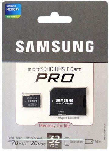 Karta Pamieci Samsung Microsd 32gb Class10 Pro Kamery Kamery