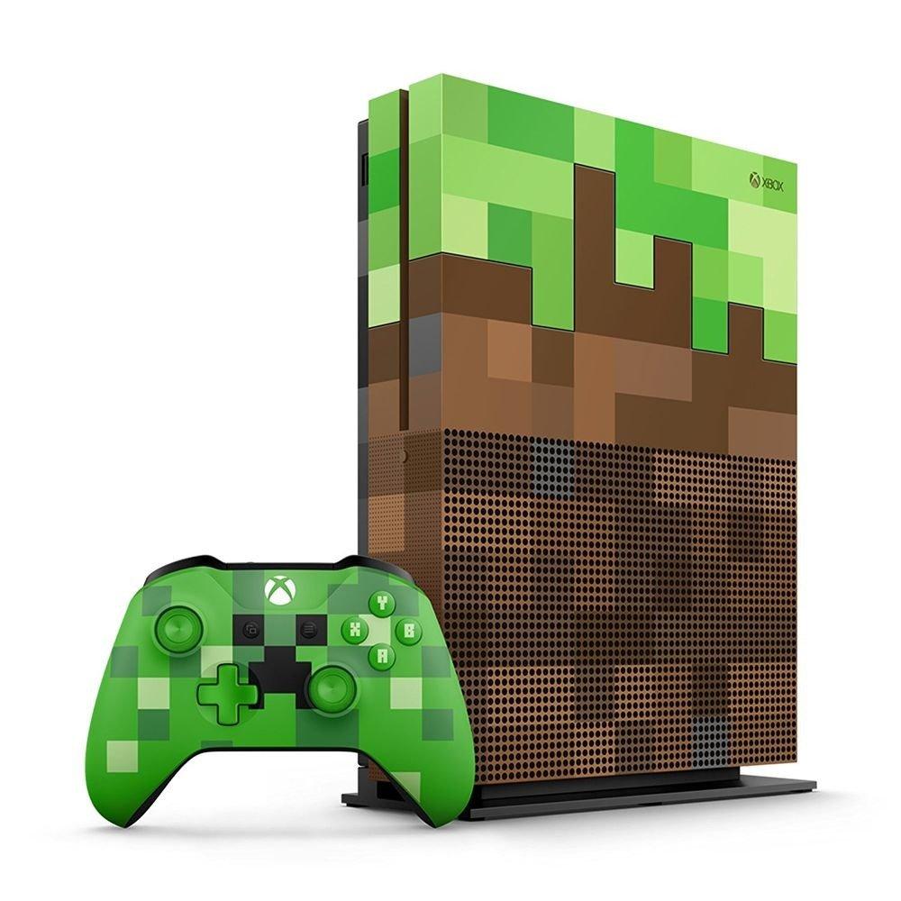 bc82339afca77b Konsola Xbox One S 1 TB Limitowana Edycja Minecraft - RTV \ Konsole ...