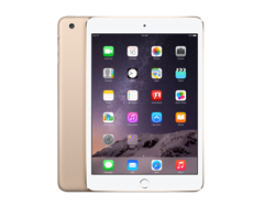 Apple iPad Mini 3 16GB Wifi Retina złoty