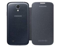 Etui Samsung Flip Cover Galaxy S4 szare