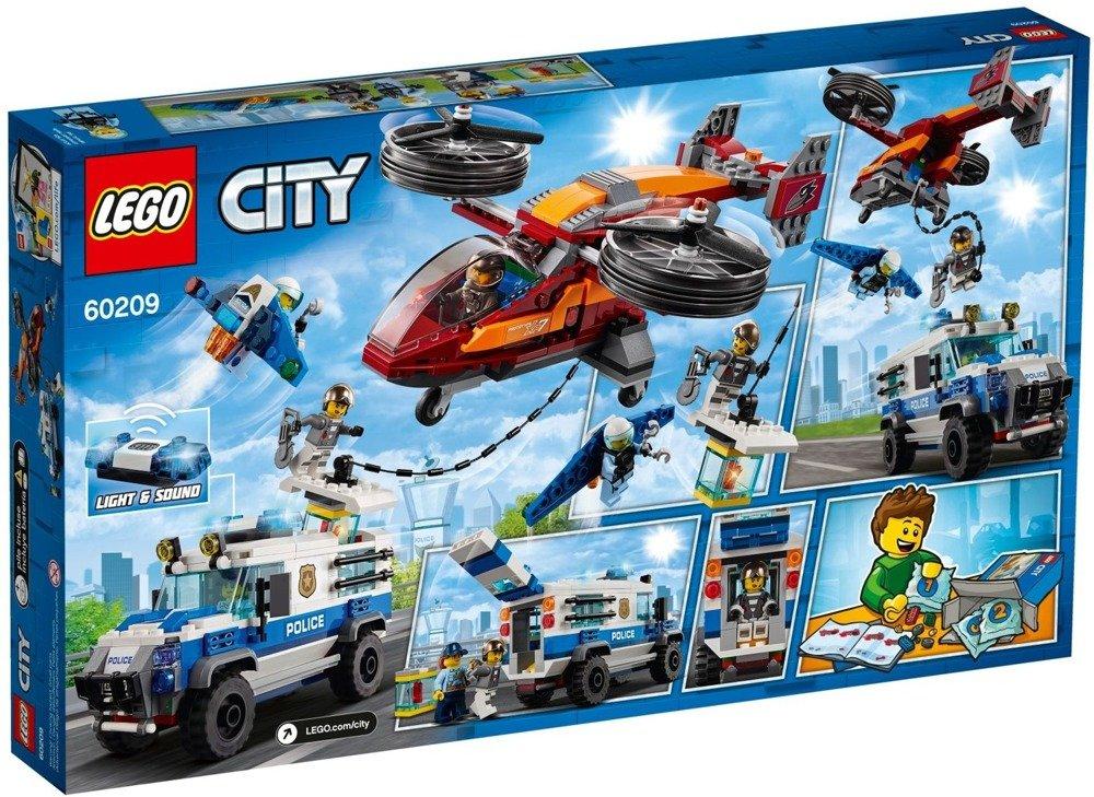 Klocki LEGO City - Rabunek diamentów - 60209