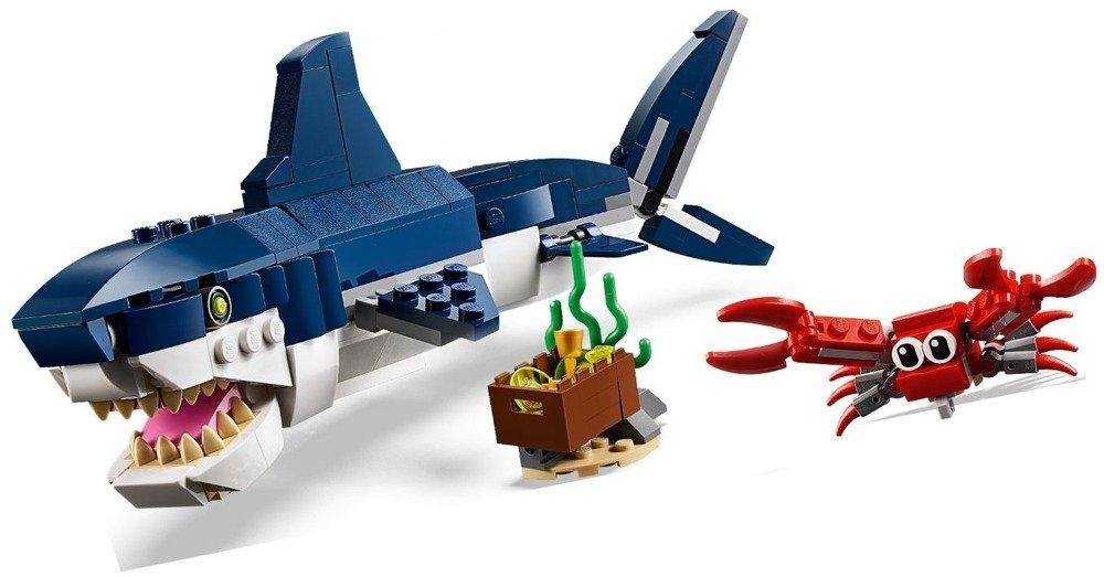 Klocki LEGO  Creator - Morskie stworzenia 3w1 - 31088