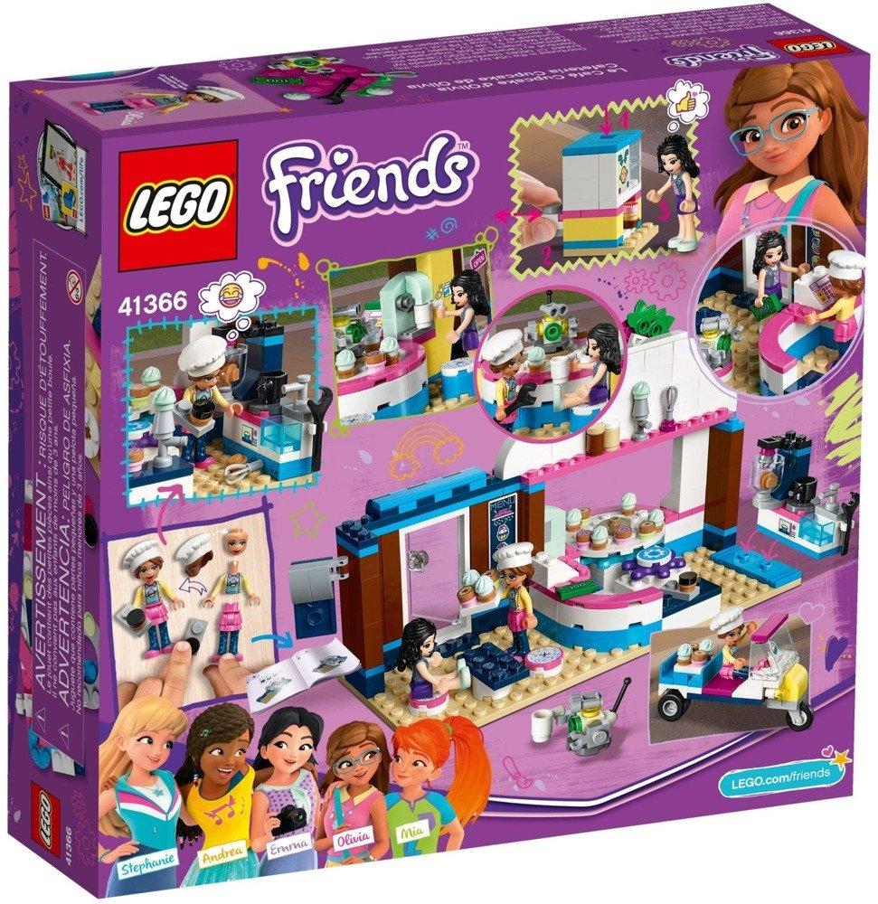 Klocki LEGO Friends Cukiernia z babeczkami Olivii - 41366