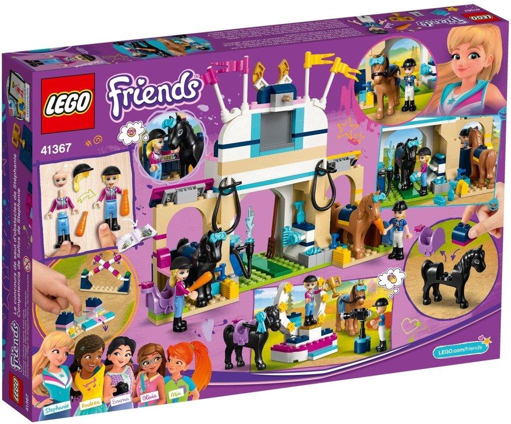 Klocki LEGO Friends Skoki przez przeszkody Stephanie - 41367