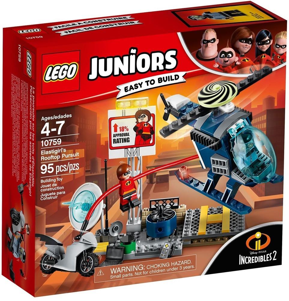 Klocki LEGO Juniors - Pościg Elastyny - 10759