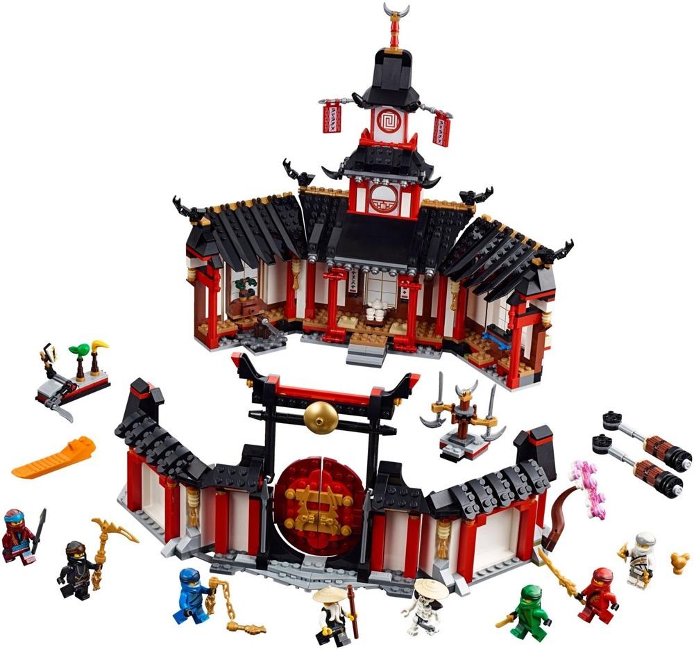 Klocki LEGO NINJAGO - KLASZTOR SPINJITZU - 70670