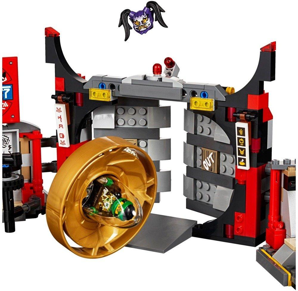 Klocki LEGO NINJAGO - Kwatera główna S.O.G. - 70640