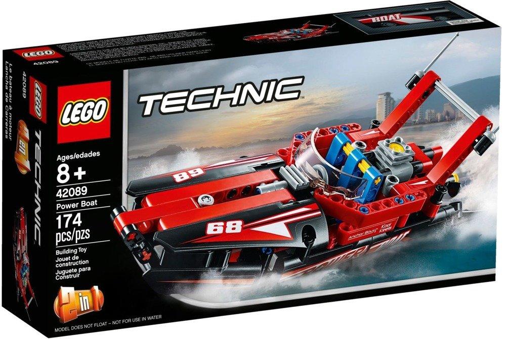 Klocki LEGO Technic, Motorówka - 42089