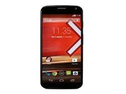 Motorola Moto X Czarna Walnut Finish Drewniana