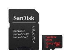 SANDISK MICRO SD 128GB ULTRA (microSD XC) 48MB/sC10 UHS-I+SD ADAP. FOTO
