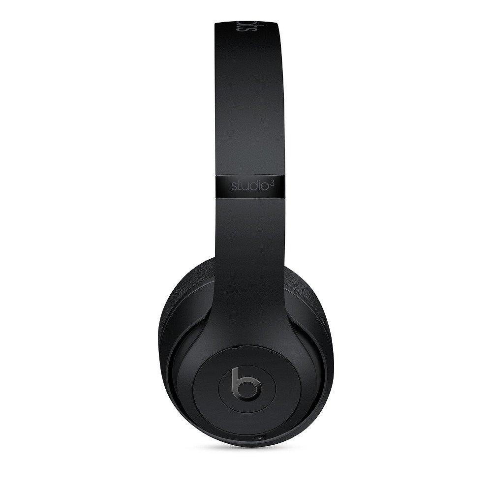 Słuchawki nauszne Beats Studio3 Wireless Over-Ear Headphones - Matte Black - Czarny Matowy