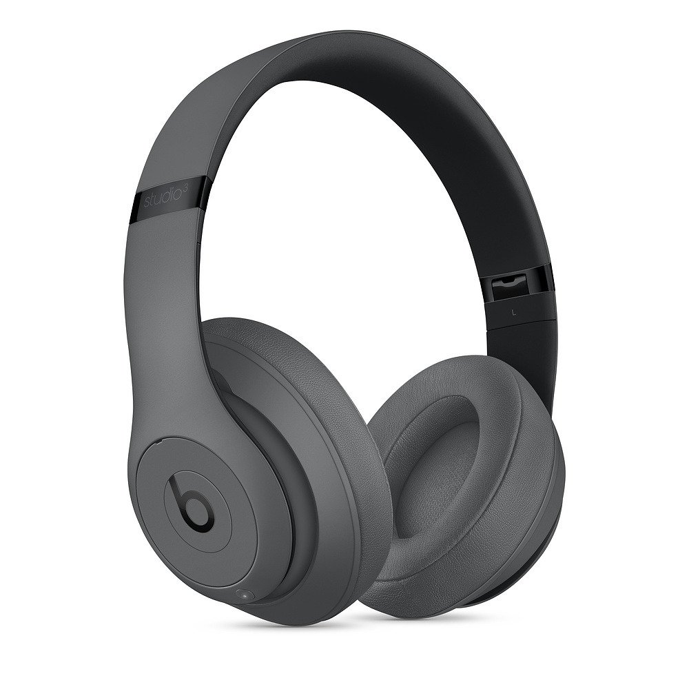 Słuchawki nauszne Beats Studio3 Wireless Over-Ear Headphones - Szary