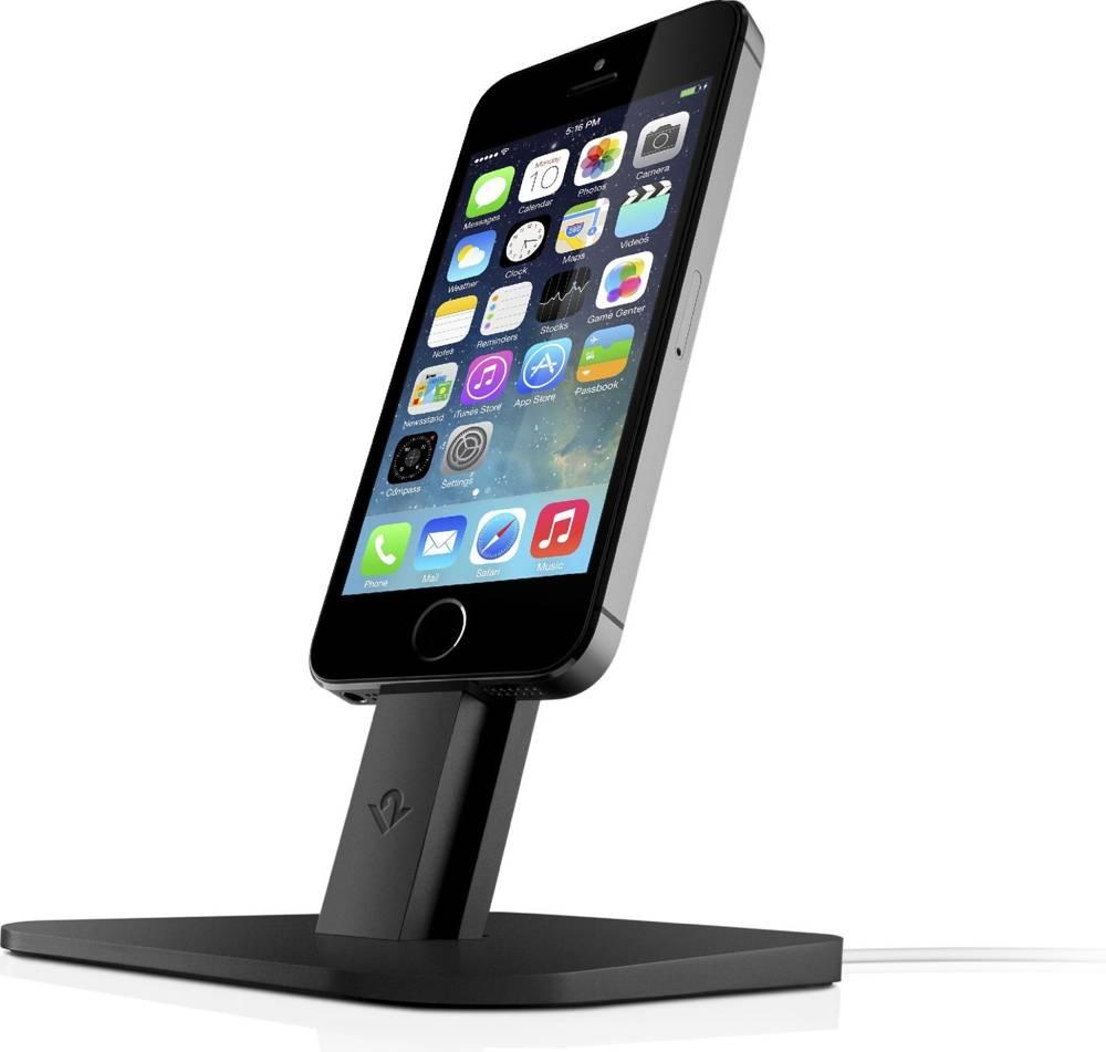 Twelve South HiRise - podstawka do iPhone 5/5s/5c, iPad, mini, iPod touch 5 Czarny