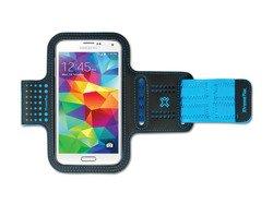 XtremeMac SportWrap - etui do biegania dla iPhone 6 i Samsung S5 niebieskie